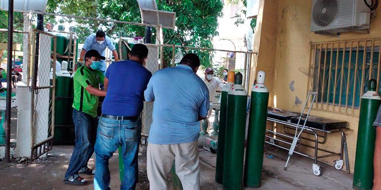 DPI investiga manejo de cilindros de oxígeno en Hospital del Sur