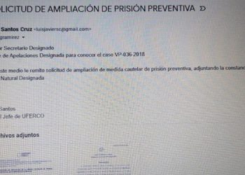 Uferco solicitó ampliación de medidas contra señalados en el caso ¨Pandora¨
