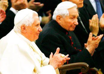 Fallece el hermano mayor del papa emérito Benedicto XVI