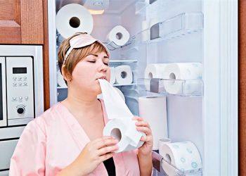 ¿Comer papel higiénico se puede convertir en una adicción?
