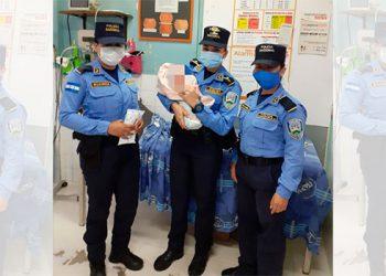 Rescatan a bebé abandonado en un basurero de la colonia Las Brisas