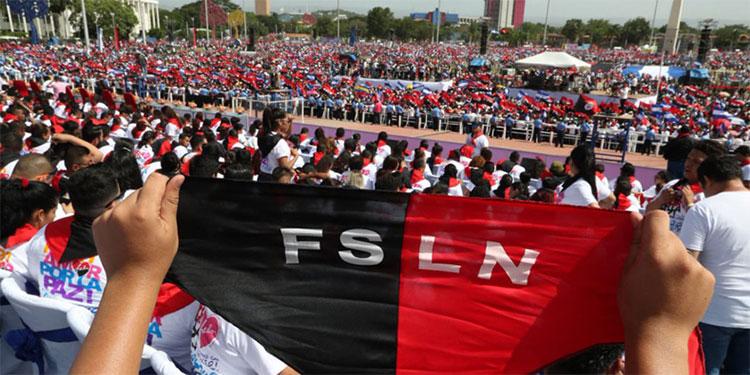 Año a año, Nicaragua celebra la fiesta más importante del partido de Ortega