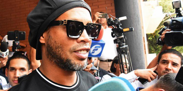 Revés judicial de Ronaldinho que buscaba salida abreviada