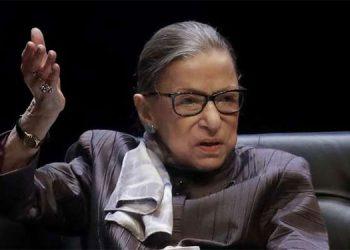 La jueza progresista de EE.UU. Ruth Bader Ginsburg tiene cáncer de hígado