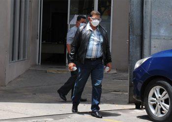 José Santiago Barralaga, exalcalde de Sabá, Colón, (1998-2002), acusado por la Fiscalía de lavar 211 millones de lempiras.