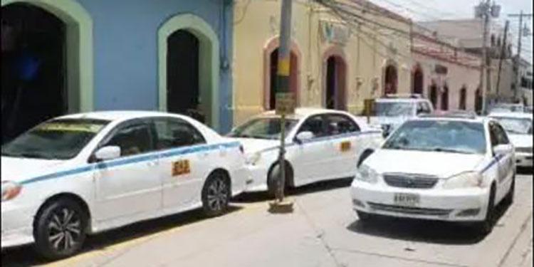 Los taxistas de Comayagua y Siguatepeque destacaron en el buen cumplimiento de las medidas de bioseguridad.
