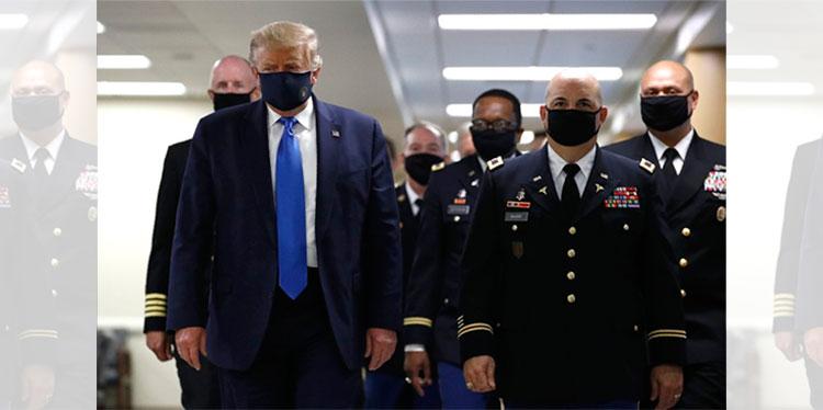 Trump retoma el timón en EEUU frente al coronavirus