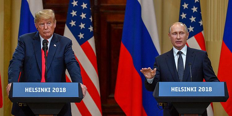"""Trump y Putin hablan sobre la pandemia y soluciones a """"carrera de armamento"""""""