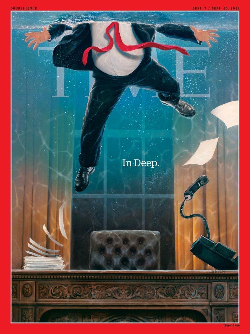Trump y el coronavirus en impactante portada de Time (Video)