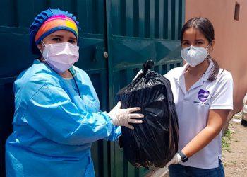 Las fundaciones Fuluzca y Abrazos de Plata se unen a las brigadas médicas COVID-19 de Comayagüela.