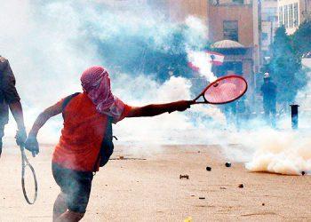 La violencia estalla en un Beirut indignado