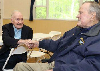 Brent  Scowcroft y George HW Bush