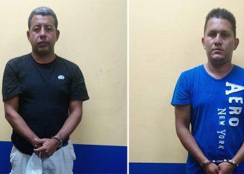 Elvin Noel Vásquez y César Martínez Pacheco Fortín se dirigían al sector de Corinto, junto a los cubanos.