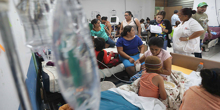 En la semana epidemiológica número 30 se contabilizan 17,110 casos de dengue en todo el país.
