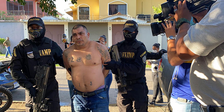"""""""El Gasper"""" es el cabecilla de la MS-13 en la zona norte y coordinaba actividades delictivas en los municipios de El Progreso y Tela."""