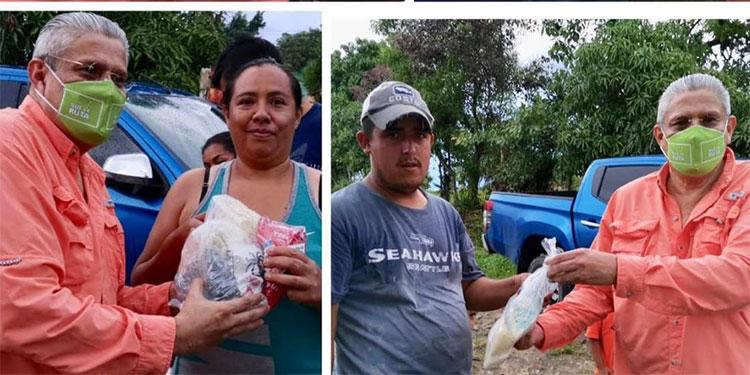 Nueva Ruta se proyecta con hondureños llevando ayuda alimenticia