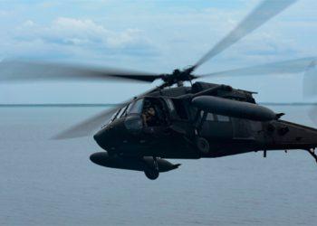 Helicópteros del ejército de EEUU realizan ejercicios en el norte de Honduras