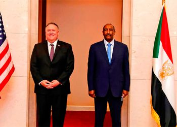 Histórico breve e infructuoso viaje de Pompeo a Sudán