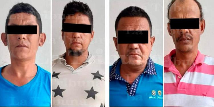 Caen cuatro migrantes hondureños con marihuana en México