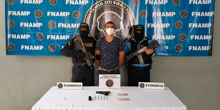 """Con subametralladora capturan a """"El Bilin"""" de la """"Salvatrucha"""""""