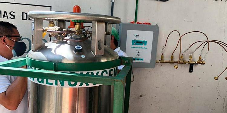 Instalados tanques de oxígeno líquido en Hospital del Sur