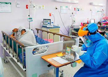 En el IHSS hay 52 pacientes en UCI, según el reporte de Sinager del 4 de agosto.