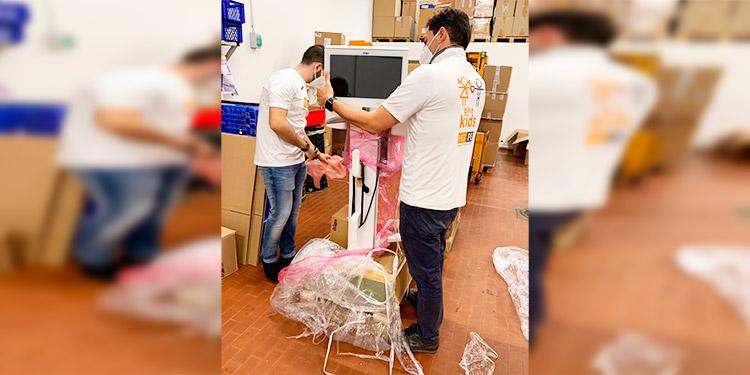 El papa envía a Brasil material médico para luchar contra la COVID-19