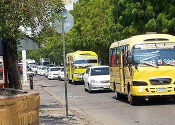 Una manifestación pacífica realizarán los transportistas del sector bus urbano en la ciudad de Choluteca.