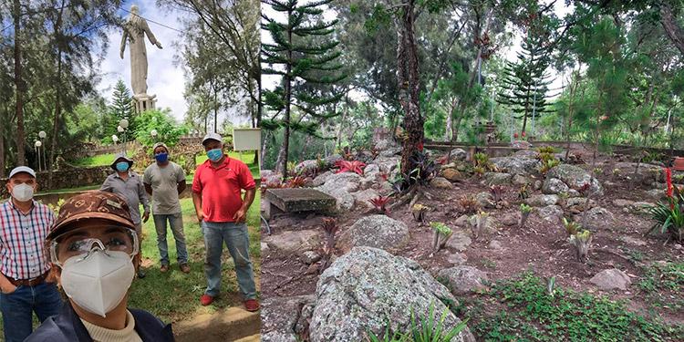 A 4 meses de cierre vuelven a abrir parque Cristo de El Picacho