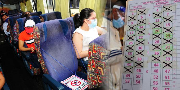 Buses interurbanos inician pilotaje con 50% de pasajeros