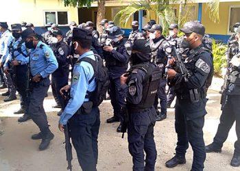 Los operativos en Tela se han intensificado con la llegada del subcomisario Lisandro García Chacón.