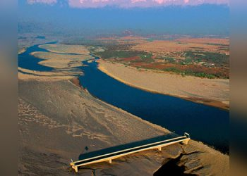 Puente sobre el río Choluteca.