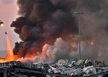 Dos enormes explosiones en el puerto de Beirut causaron 73 muertos y 3,700 heridos, sembrando pánico en la capital libanesa en medio de escenas de devastación.