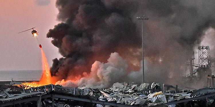 Dos enormes explosiones causan 73 muertos en Beirut