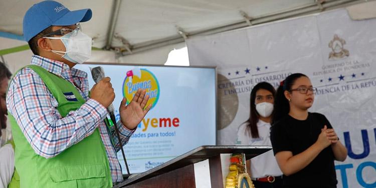 Para iniciar el proyecto se destinaron tres millones de lempiras para Francisco Morazán, tres para Cortés y dos para Olancho.