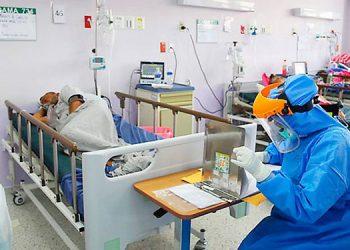 La afluencia de casos de COVID-19 se ha reducido en el IHSS de la capital, según reportes médicos.