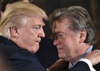 Trump y Steve Bannon.
