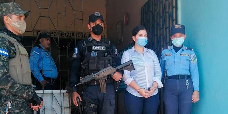 Roxana Yasmín Rodríguez será trasladada hoy del centro penal de Nacaome a los juzgados.
