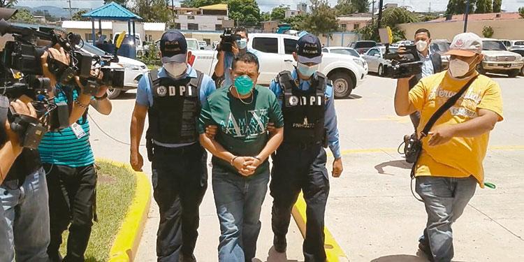 Roberto David Casco Bustillo fue detenido en la colonia Nueva Suyapa de Tegucigalpa el pasado 6 de agosto.