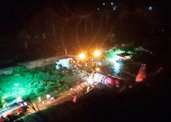 Avión con unos 180 pasajeros se accidenta al aterrizar en el sur de la India