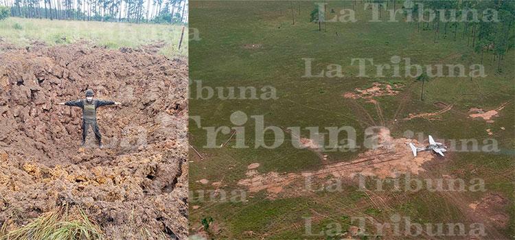 Inhabilitan pista clandestina en Brus Laguna