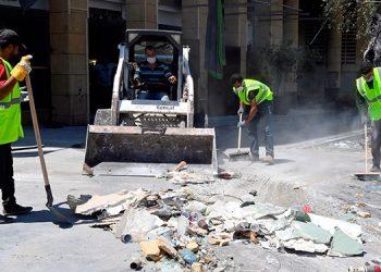 Acaba la primera fase de labores de rescate en Beirut sin hallar supervivientes