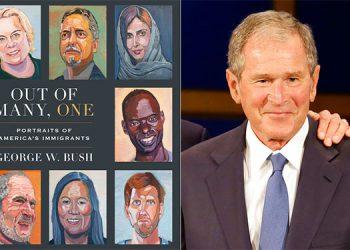 George W. Bush rinde homenaje a los migrantes en nuevo libro