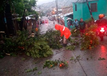 Comité de emergencia: El Lolo está sufriendo todos los embates de últimas lluvias