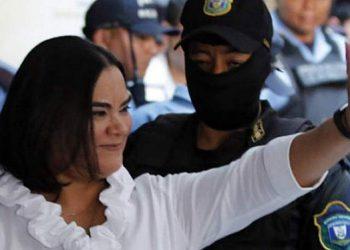 Actualmente Rosa Elena Bonilla se encuentra con medidas distintas cautelares.