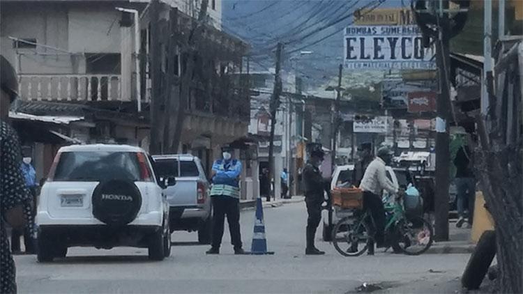 Cierre de la Alcaldía Municipal de Danlí por contagio de Covid-19