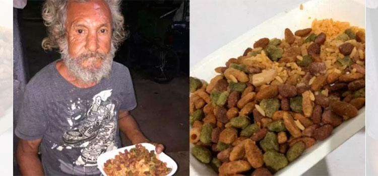 ¿Se acuerdan del señor que le dieron comida para perro?
