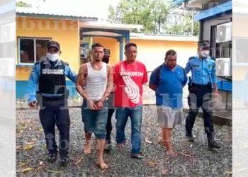 """Detienen a cinco miembros de estructura criminal """"Los Pichos"""" en La Ceiba"""