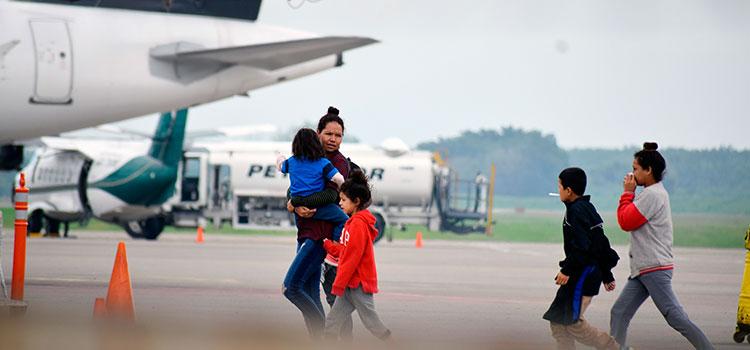 La deportación de inmigrantes hondureños disminuye un 63.9 %