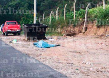 Hallan a un hombre encostalado en Tegucigalpa